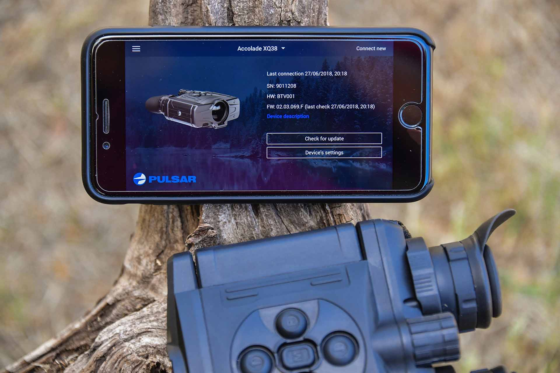 Pulsar Accolade XQ38 app for Apple iOS and Android