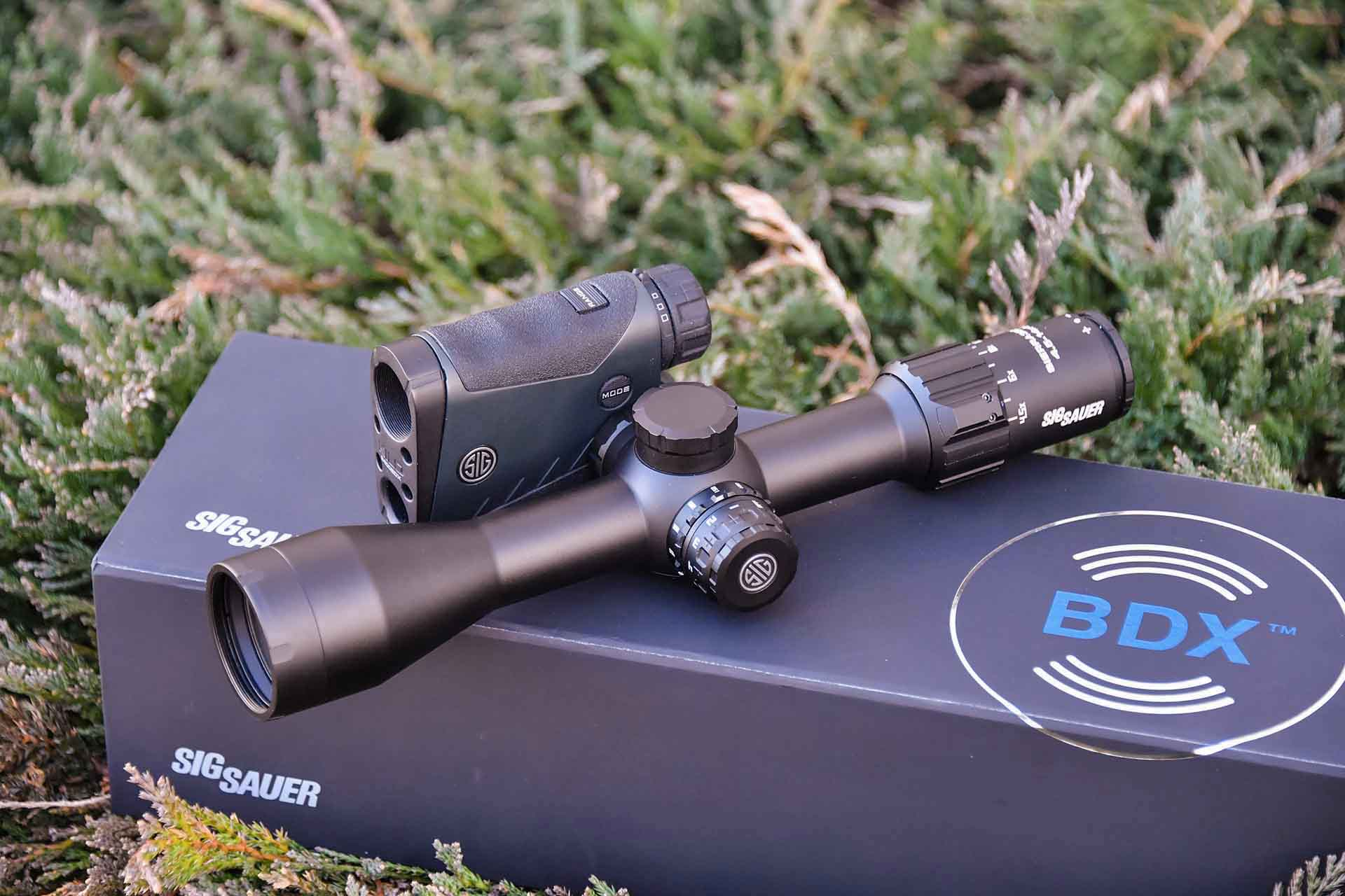New BDX technology from SIG Sauer Electro Optics