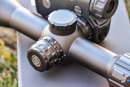 Turrets on the Sierra 3DBX riflescope