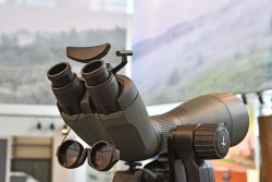 Swarovski BTX telescope with two eyepieces