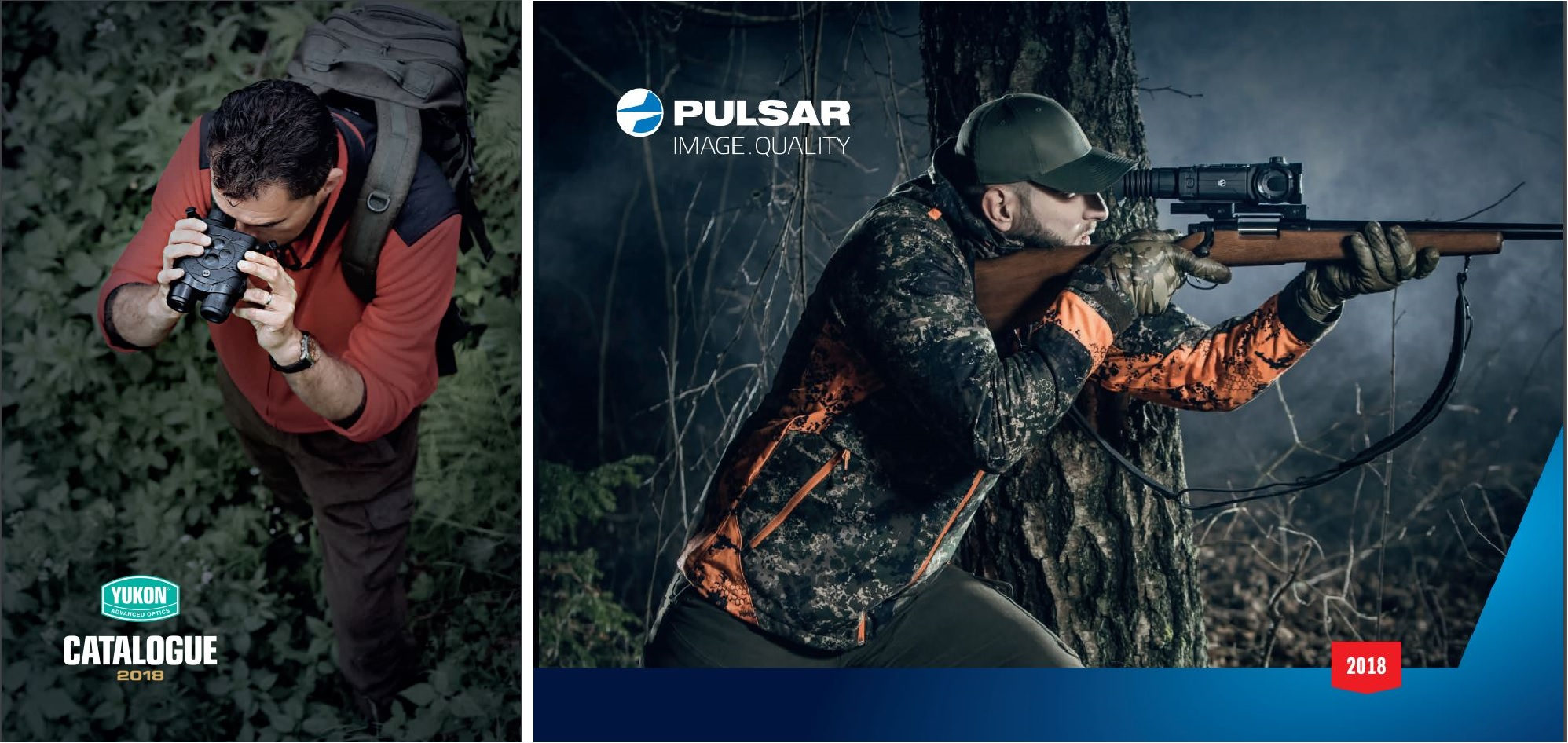 Optics catalog from YUKON Advanced Optics and Pulsar for 2018.
