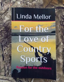 """For the love of country sports"", Linda Mellor's new book"
