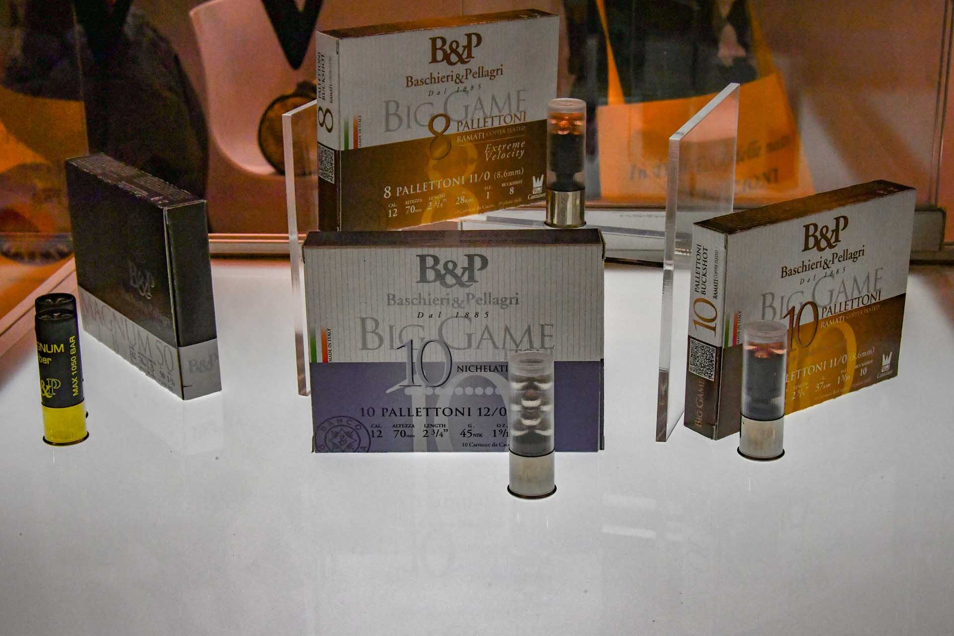 The Semi Magnum line by Baschieri & Pellagri, includes a 16 gauge 36 g load and a 40 g high speed load for the 12 gauge.
