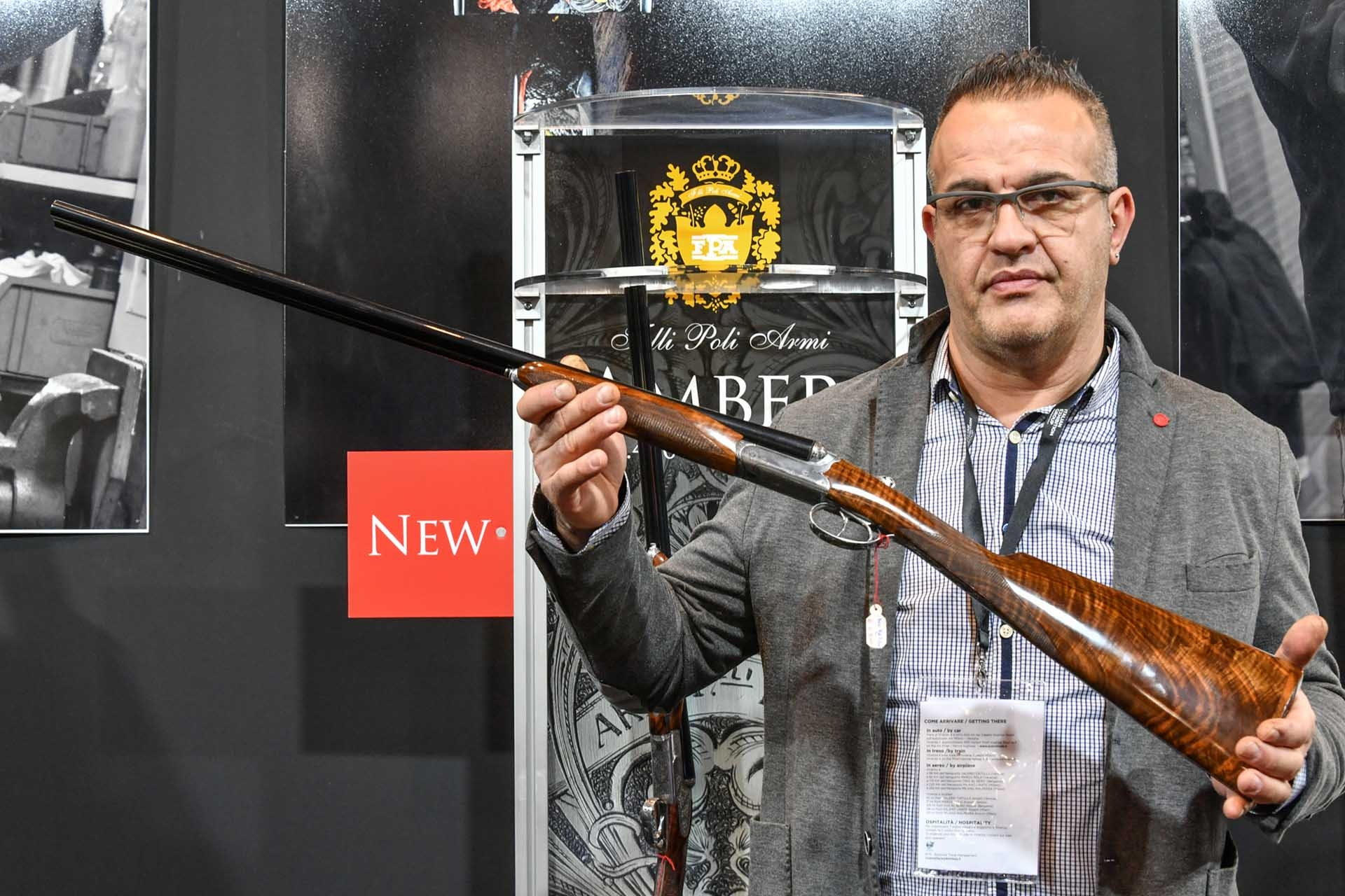 The new Fratelli Poli Amber side-by-side shotgun in 28 gauge