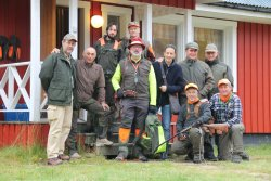 Group photo, all4hunters staff and LugaresiTour Operator staff