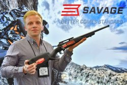 Savage Model 110 Tactical Hunter bolt-action rifle