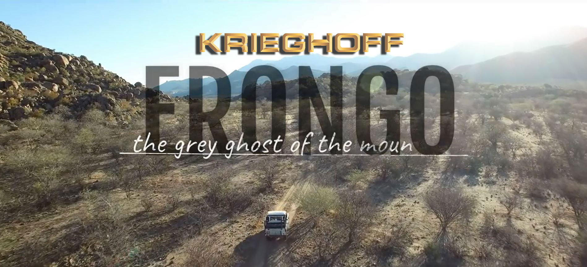 Hunting in the Erongo mountains of Namibia with Krieghoff