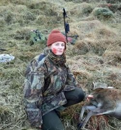Lady hunter India Annand