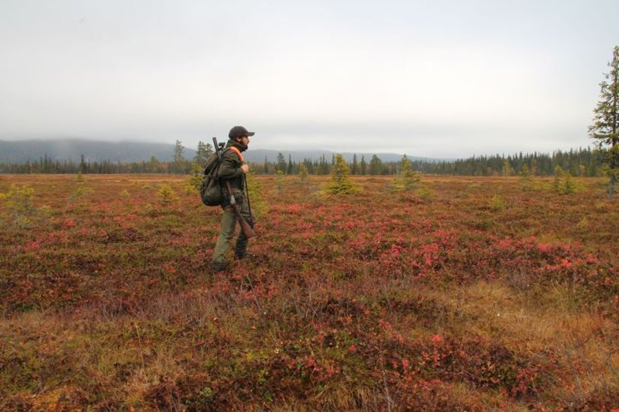 Hunter in Lapland