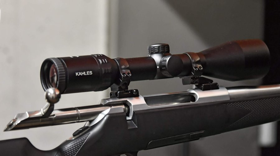 The new Helia riflescope series from KAHLES