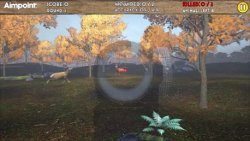 """The Driven Hunt Experience"" web game: hunting scenario screenshoot"