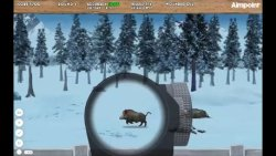 The Driven Hunt Experience: wild boar screenshoot of the web game