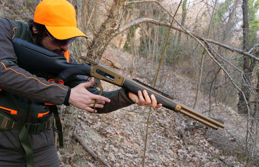 Hunting with the Pedersoli Mark II rifle.