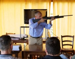 Presentation of the new version of the Browning rifles