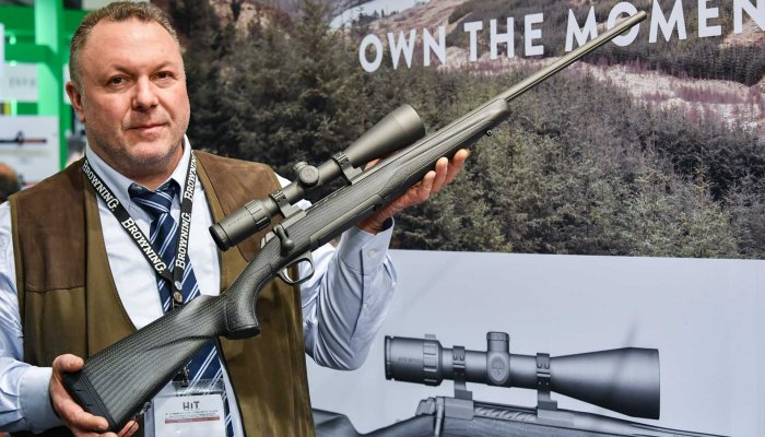 browning: Browning X-Bolt Pro Carbon, a new hunting rifle