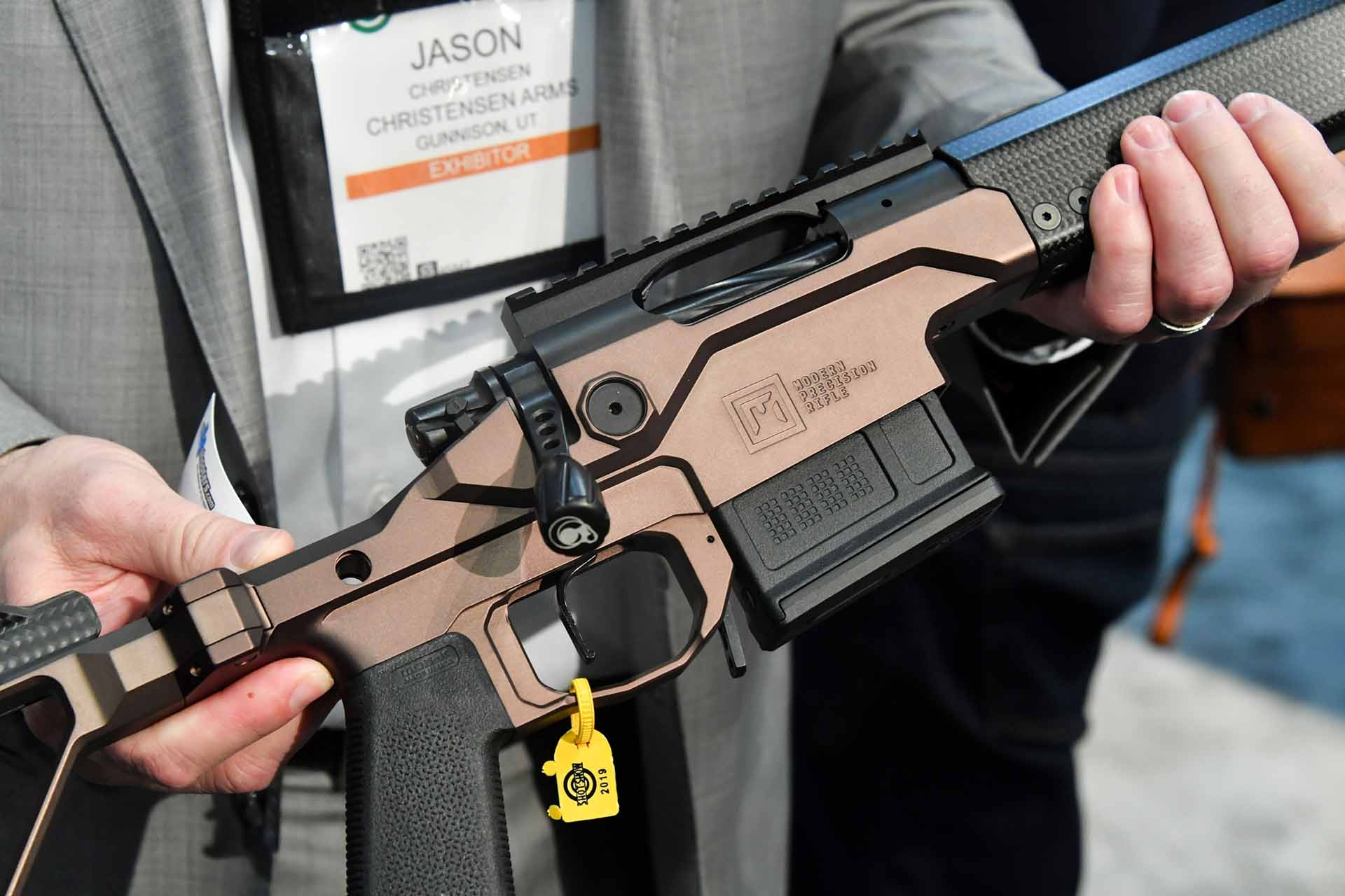 The Match-type trigger of the Christensen Arms MPR rifle