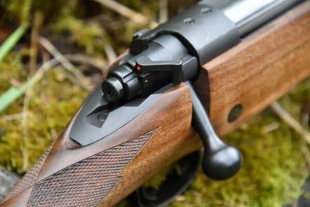 Safety of the Kimber 8400 Caprivi bolt action rifle