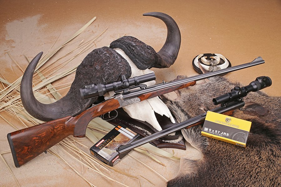 The Krieghoff Classic Big Five rifle to hunt big game