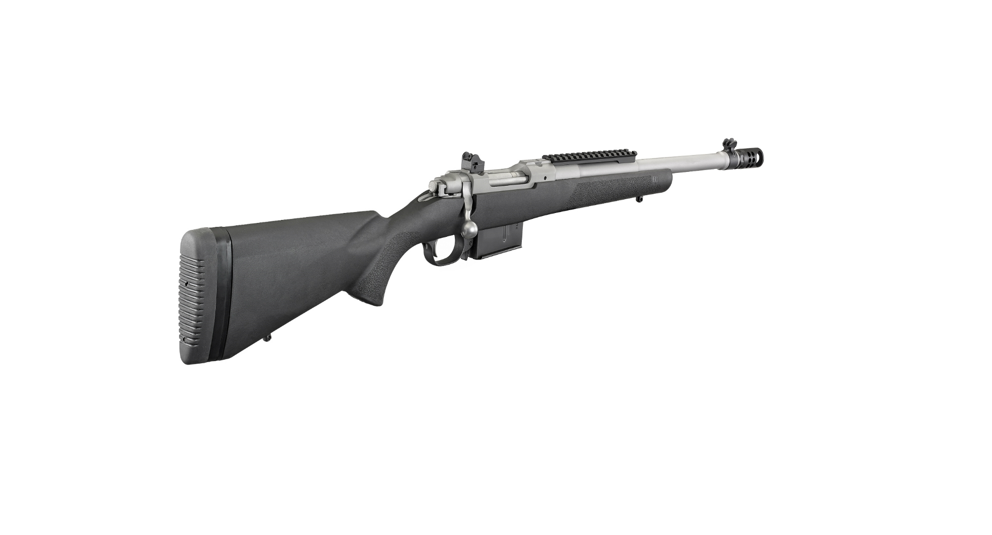 The Ruger Scout Rifle in .450 Bushmaster.