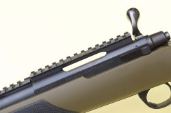 Scope mount on the Sabatti Compact Scout rifle