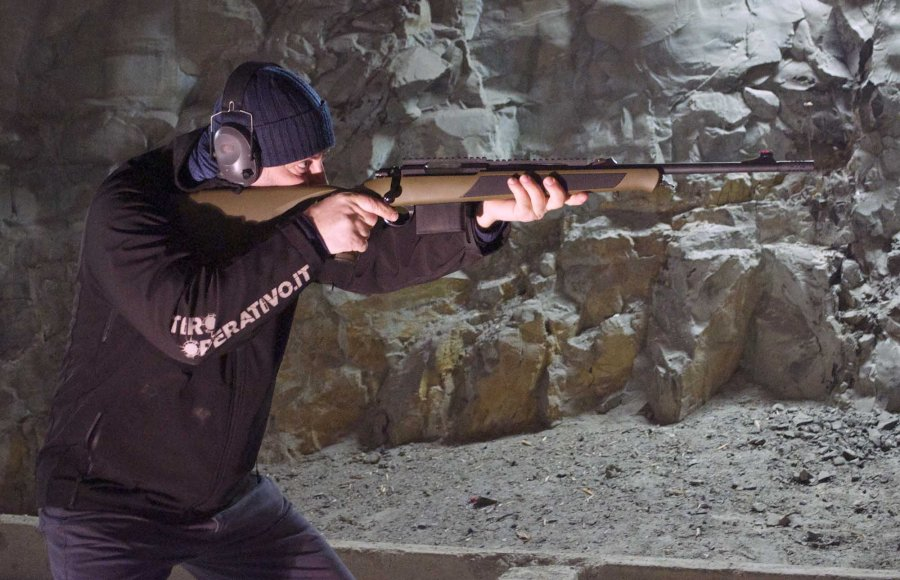 Firing the Sabatti Compact Scout