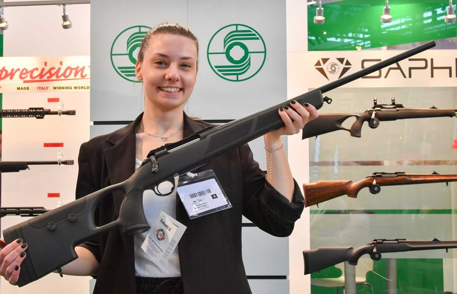 The new Extended Range (ER) rifle from Sabatti at IWA 2018