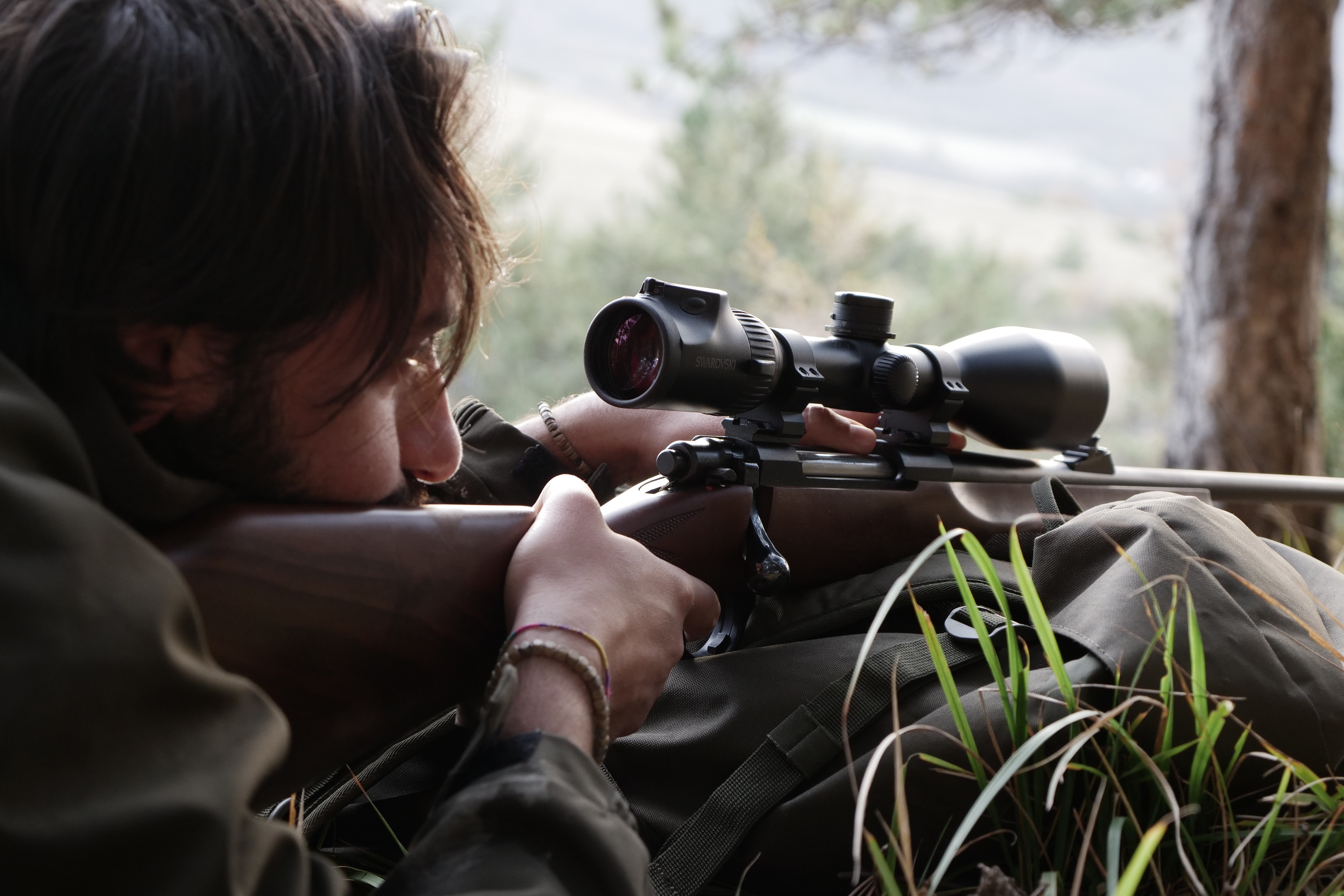 sabatti: Selective wild boar hunting with Sabatti Rover rifle and Swarovski Z6i