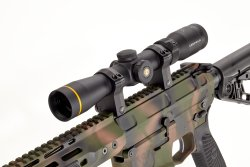 A close look of the Tactical Hunter carbine
