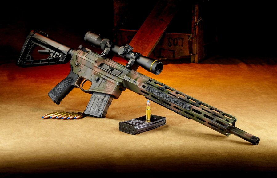 Wilson Combat Tactical Hunter Carbine in .458 HAM'R.