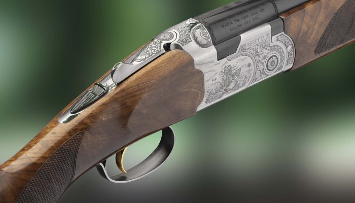 beretta: New Beretta 687 Silver Pigeon III over/under shotgun, for hunters in search of the perfect shot