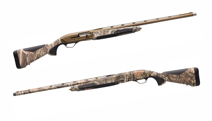 browning: Browning Maxus II: a new generation of semi-auto shotguns in 12/89 gauge with five hunting models