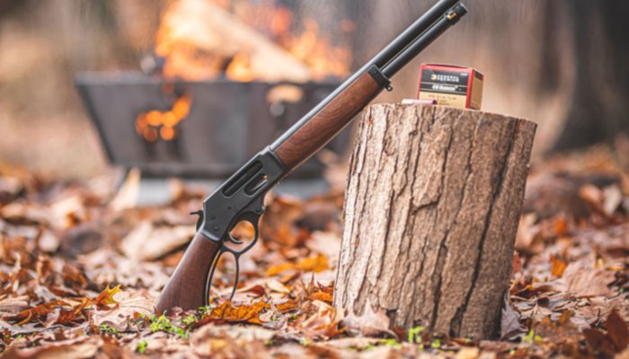 shotguns: Henry Lever Action Axe .410, fun in a small package