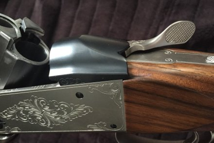 The lever of the Krieghoff-K-80