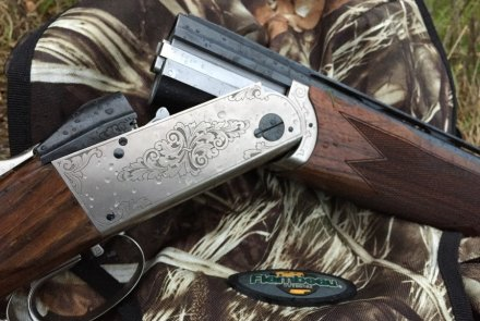 The Krieghoff K-80 receiver