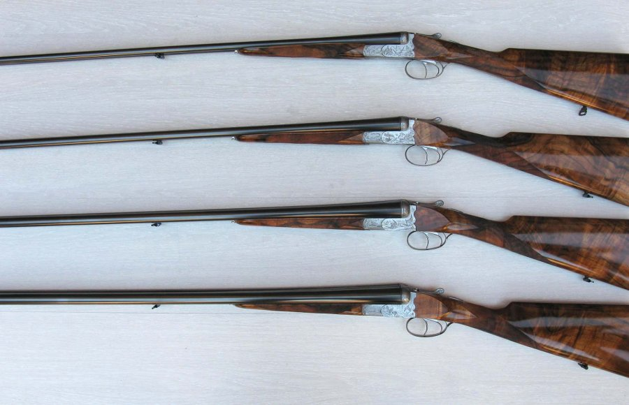 Poli Bosis double-barrelled shotguns
