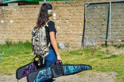 Bulldog Pinnacle gun cases in Muddy Girl and Serenity patterns