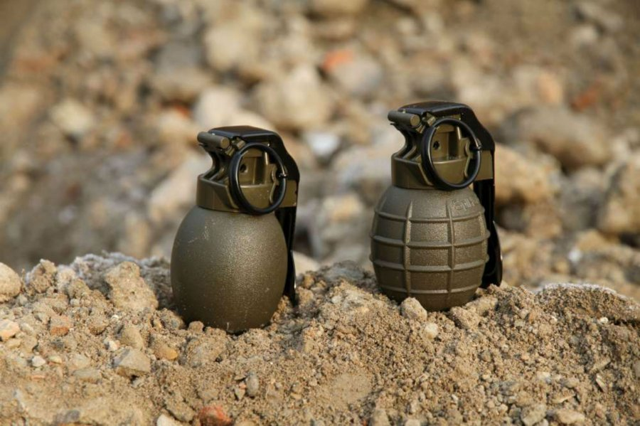 The new CZ hand grenades.