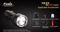 Fenix Lights TK22
