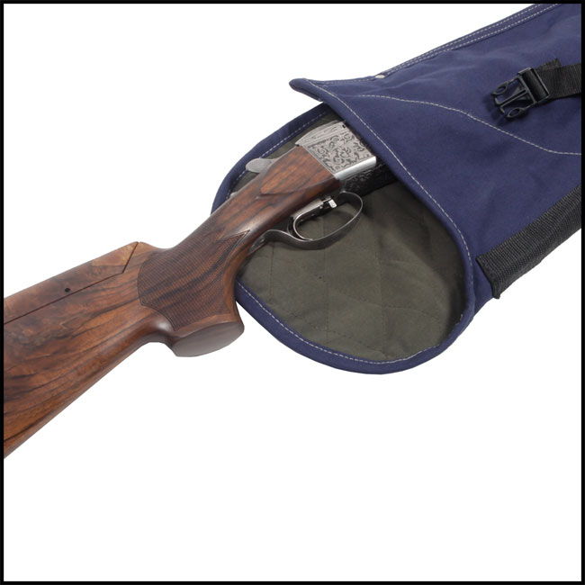 Gun slip with shotgun