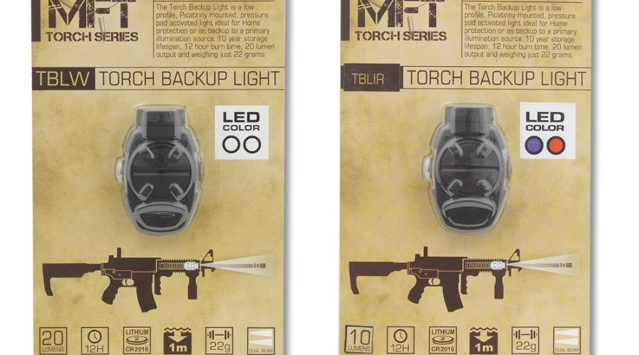 MFT Torch Backup as sold in its retail package