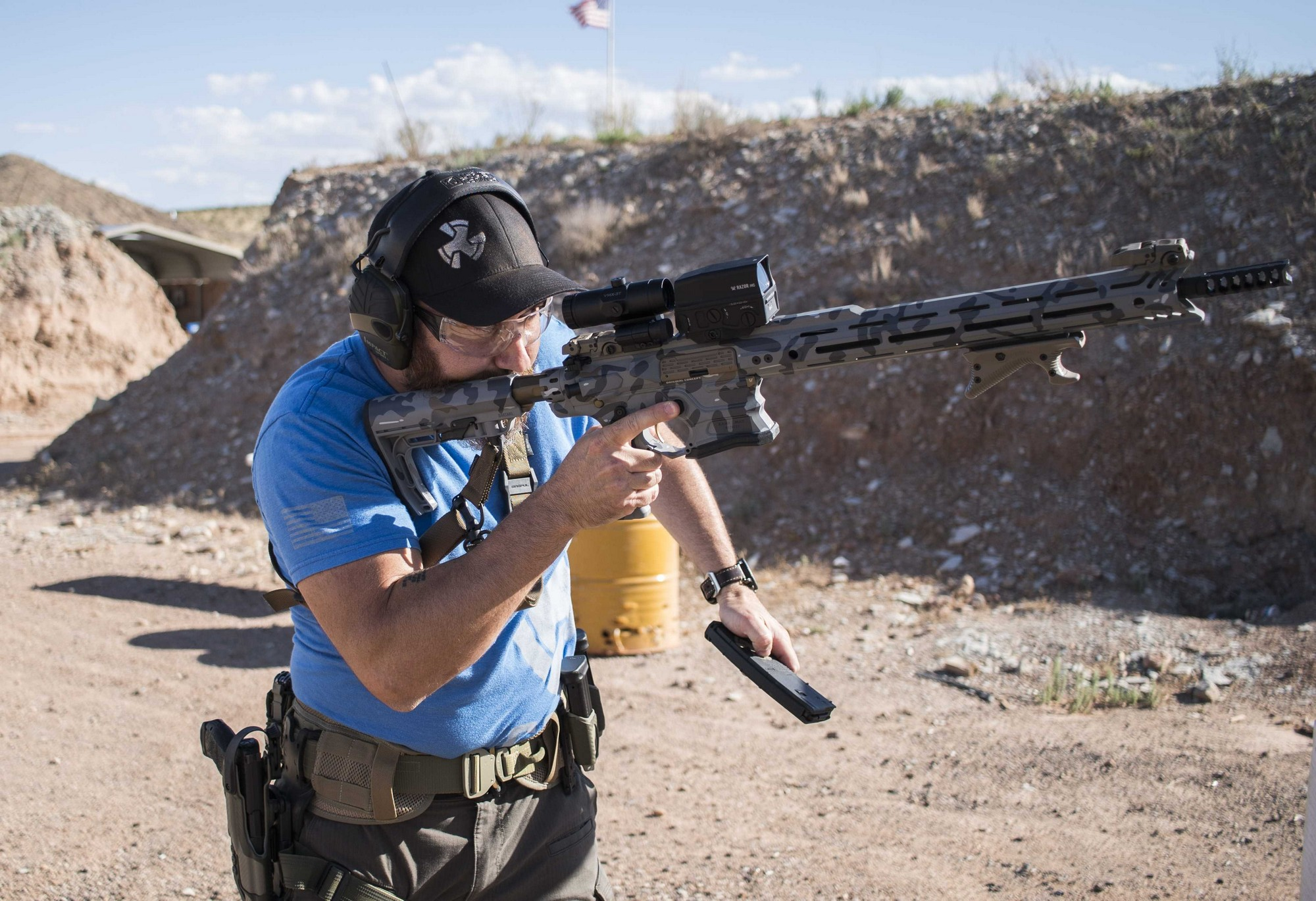 Shooting with the VTX Range from Cobalt Kinetics