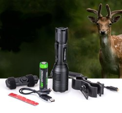 Nextorch T53 Flashlight with professional accessories