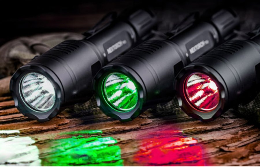 Nextorch T53 SET 3-in-1 Multi-light Hunting Flashlight Set with multi-light technology
