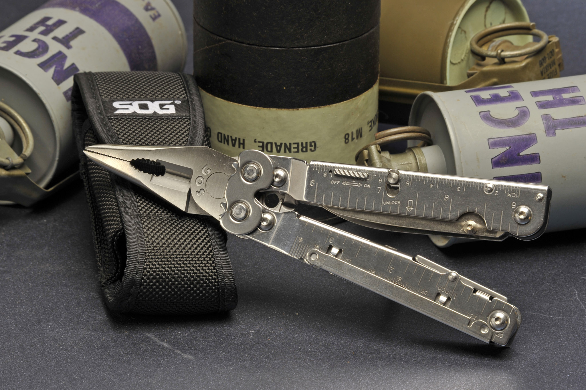 Sog Powerassist S66 Folding Pliers Multi Tool All4shooters
