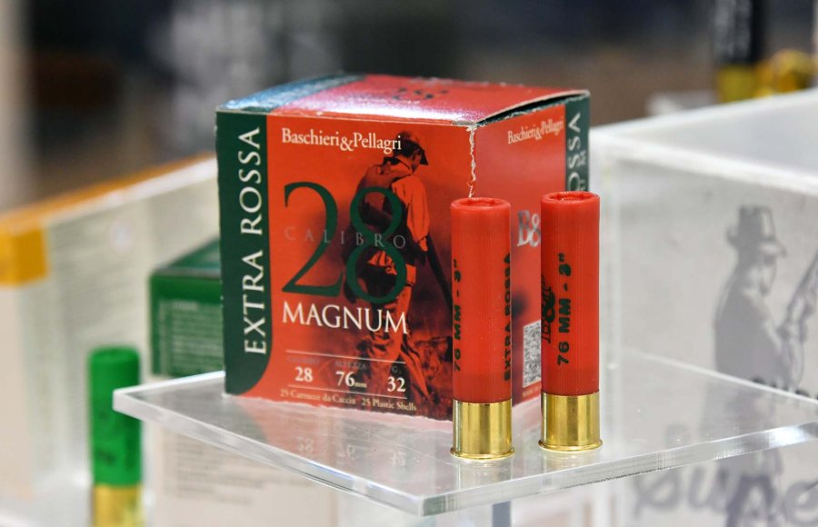 Baschieri & Pellagri Extra Rossa cartridge in 28 magnum