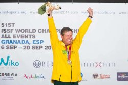 Warren Potent at 2014 ISSF World Championships