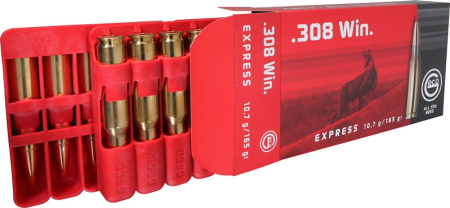 GECO centerfire rifle cartridges for hunting packaging