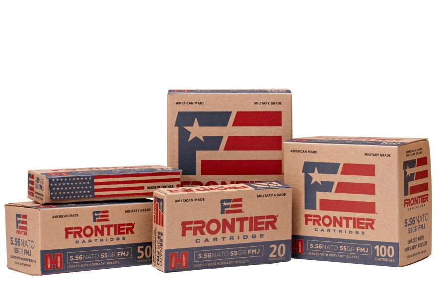 "The new Frontier ""Military Grade"" ammunition from Hornady"