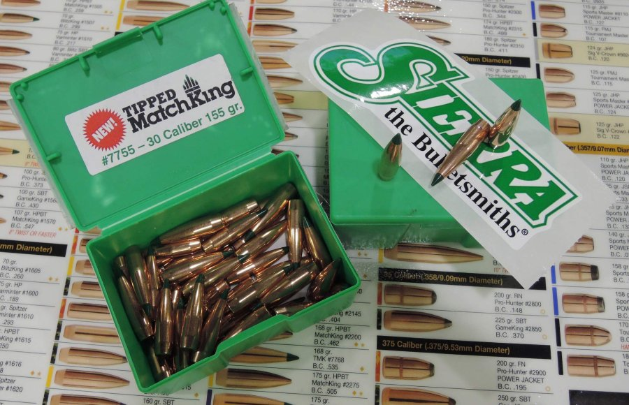 Sierra Bullets introduced its new products in reloading supplies at the 2016 SHOT Show