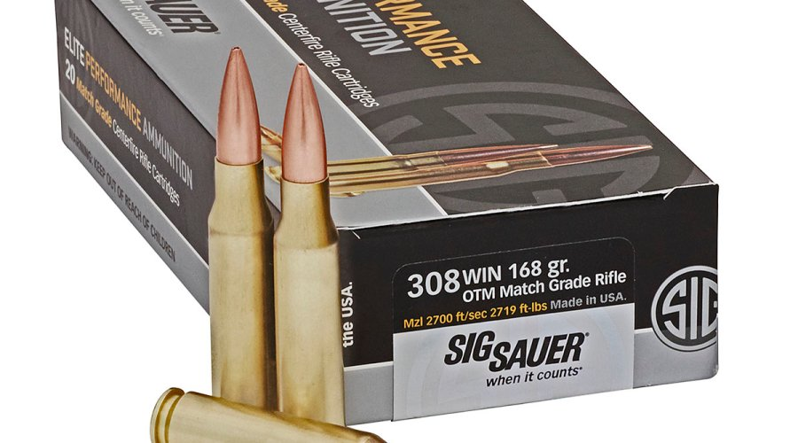 SIG Sauer Match Grade Elite Performance .308 Winchester